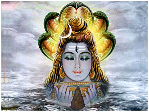 Lord Shiva is worshiped on Maha Shivaratri.